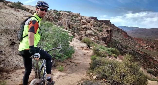 Matt Mtn Biking